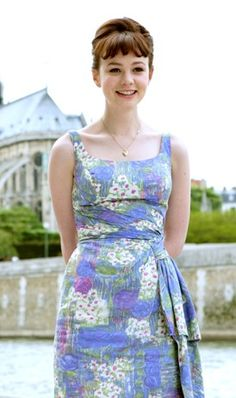 Carey Mulligan in An Education This could work with By Hand London Kim bodice and Charlotte skirt combined
