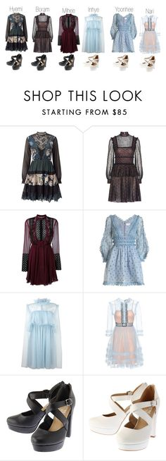 """""""BeYu - The Empire Pt. 1"""" by liujiaxie ❤ liked on Polyvore featuring Miss Selfridge, Alexander McQueen, Giambattista Valli, Zimmermann, MSGM and Gucci"""