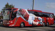 Самые стильные автобусы футбольных команд - Это интересно! - Севастопольская биржа услуг