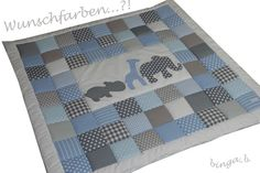 Krabbeldecken - ♥Krabbeldecke: Auf Safari♥ - ein Designerstück von binga-b bei DaWanda