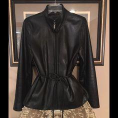 Colebrook &Co Soft Lamb Leather Jacket Size S