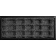 Bungalow Flooring Aqua Shield Boot Tray Squares Charcoal 15 in. x 36 in. Pet Mat-20447541536 - The Home Depot