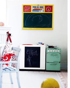 colorful kids spaces | THE STYLE FILES