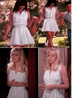 Who wore it better! This happened in the same season on Beverly Hills 90210 Brenda & Kelly
