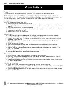 Cover Letter Career Change Sample