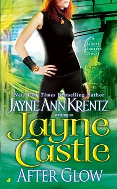 After Glow (Ghost Hunters, Book 2) by Jayne Castle http://www.amazon.com/dp/0515136948/ref=cm_sw_r_pi_dp_aOQkvb1SPH2QH