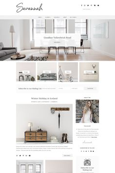 The Savannah WordPress theme is a clean, stylish blog theme. This minimal WordPress theme is perfect for any type of blog. It includes many custom touches and features including many layouts, dual menus and custom widget areas. #wordpress via @admin2692