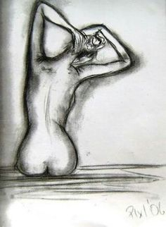 42 Artistic Charcoal Painting and Sketches for Beginners Body Sketches, Art Sketches, Art Drawings, Figure Drawings, Charcoal Paint, Charcoal Sketch, Charcoal Drawings, Abstract Sketches, Pose