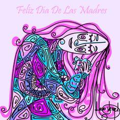 Feliz Día a Todas Las Madres #FelizDiadelaMadre #FelizDomingo #felizdiadasmaes #art #contemporaryart #HappyMothersDay