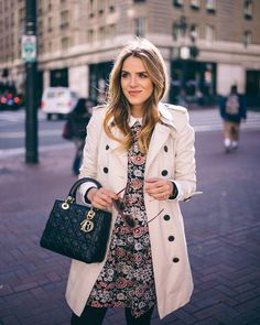Downtown SF on galmeetsglam.com today with @bloomingdales #ontheblog #burberry #sanfrancisco