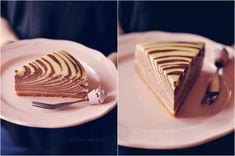 """Czekoladą utkane: Sernik """"Zebra"""" (waniliowo-kakaowy) Pie, Sweet, Food, Torte, Candy, Cake, Fruit Cakes, Essen, Pies"""