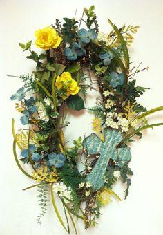Cross wreath - beautiful!