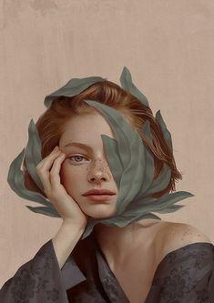 Découvrez les portraits captivants et surréalistes de Aykut Aydoğdu Poster Art, Poster Design, Flyer Design, Design Design, Logo Design, Design Ideas, Graphic Design, L'art Du Portrait, Portrait Photography