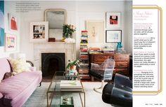 我們看到了。我們是生活@家。: 紐約Lonny線上生活居家雜誌10月號出刊了!