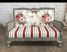Decor, Redo Furniture, Painted Furniture, Diy Patio Furniture, Refinishing Furniture, Furniture Upholstery, Furniture Makeover, Outdoor Sofa Sets, Upholstery