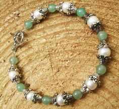 Gorgeous Beaded Bracelet by FairyInTheForest on Etsy
