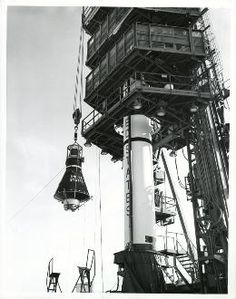 Vintage NASA Mercury Space Program Photos