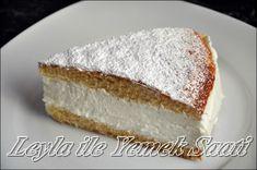 Zitronen – Quark – Sahne -Torte ( Limonlu – Kremali – Pasta )              Kek icin gerekli Malzemeler :        150 gr yumusak tereyagi yada margarin  150 gr seker  1 paket vanilya  1 fiske tuz  3 yumurta  125 gr un  25 gr nisasta     1 cay kasigi kabartma tozu        Ic Kremasi icin Gerekli Malzemeler :     1 kutunun icindeki üc paket agar agar ( Bitkisel jelatin )  400 gr soguk krema ( schlagsahne )  2 tane limon kabugu rendesi yada 1 paket Dr. oetker finesse geriebene zitronenschale  100…