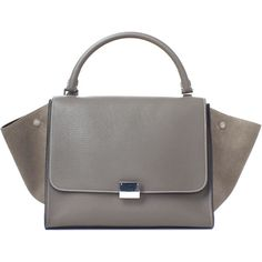 Pre-owned Celine Satchel ($2,400) ❤ liked on Polyvore featuring bags, handbags, apparel & accessories, satchels, wallets & cases, travel tote bags, man travel bag, handbags purses, tote purses and tote handbags