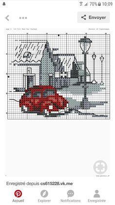Cross Stitch House, Mini Cross Stitch, Cross Stitch Heart, Cross Stitch Designs, Cross Stitch Patterns, Cross Stitching, Cross Stitch Embroidery, Embroidery Flowers Pattern, Christmas Cross