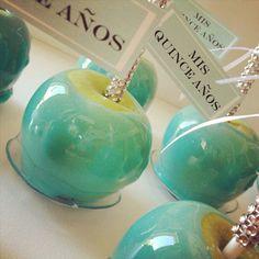 34 - Casamento em azul Tiffany - maça verde