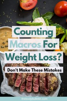 Counting macros for weight loss but not losing weight? These mistakes could be costing you. Clean Eating Diet Plan, Healthy Eating Habits, Healthy Meal Prep, Clean Eating Recipes, Easy Healthy Recipes, Macro Food List, Lose Body Fat Diet, Macro Nutrition, Counting Macros