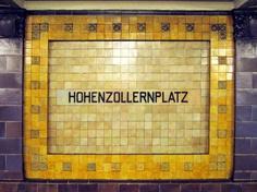 Hohenzollern Platz U Bahn, Berlin - Weimar Architecture
