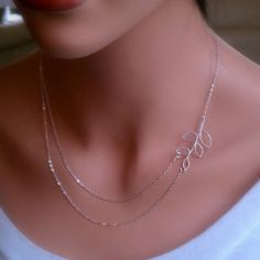 Double Chain Necklace...
