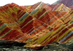 Rock Formations of Zhangye Danxia – the Most Colourful Place on Earth