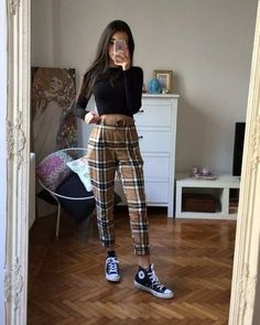 50 school fashion for grunge outfits 2019 na ie comment friday untitled Retro Outfits, Mode Outfits, Jean Outfits, Casual Outfits, Hijab Casual, Cute Grunge Outfits, Ootd Hijab, Grunge School Outfits, Korean Outfits School