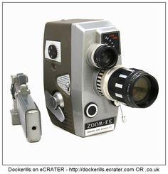Kopil III A 8 Zoom EE Clockwork / Wind-Up Cine Camera.