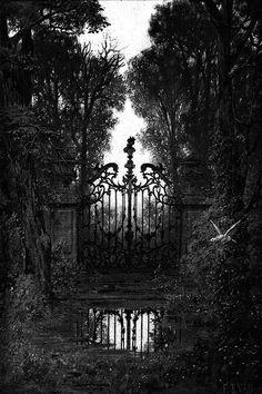 Life in the (Dark) Shadows Dark Gothic, Gothic Art, Victorian Gothic, Dark Photography, Black And White Photography, Dark Fantasy, Fantasy Art, Dark Castle, Gothic Aesthetic