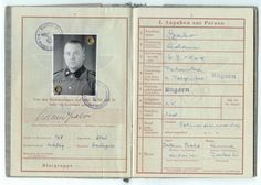 Pass from a Hungarian guard at a Concentration Camp