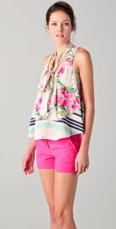 Loving girly romance with a little preppy edge right now. This top is the perfect blend of both.