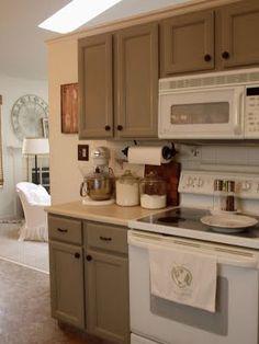 Grey Kitchen Cabinet with White Appliance Luxury Grey Cabinets and White Appliances Finally A Cute Kitchen Kitchen Cabinets With Black Appliances, Kitchen Cabinet Colors, Grey Cabinets, Kitchen Paint, Kitchen Redo, Kitchen Colors, Kitchen Remodel, Kitchen Dining, Kitchen Ideas