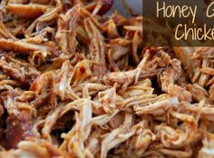 {Crock Pot} Honey Garlic Chicken Recipe | Just A Pinch Recipes