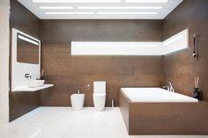 #Tendencias en #Baños El nuevo #Showroom de @NokenDesign, especializada en complementos de #baño de @porcelanosa combina dos materiales en #tendencia, #madera y el #mármol. Gran formato #porcelánico 100x300cm #XLight #Wild #Brown, en tan sólo 3,5mm de espesor. ES /EN/ FR > http://bit.ly/1QtI0Fi #Noken #Urbatek #Krion #Porcelanosa #Wood #Marble #Tiles #PorcelainTiles #Materials #Trends #Bathroom #Bathrooms