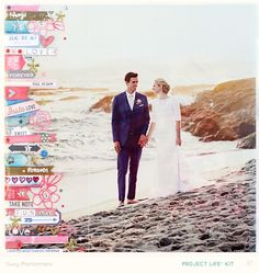 Project Life - Wedding Weekend 2 by suzyplant at @studio_calico