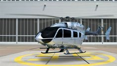 Airbus EC145 helicopter with Mercedes Benz styled interiors makes US Debut