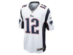 NFL New England Patriots American Football Herren-Auswärtstrikot