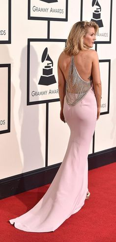 Click to see our very favorite dresses and looks from the 2016 Grammys, including Ellie Goulding in backless Stella McCartney