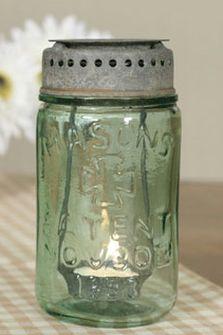 mason jars,mini jar ornaments,galvanized lid,wedding favor mason jar - Jilly Bean Kids www.jillybeankids.com
