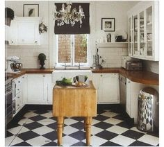 Butcher Block Countertops for a rustic, elegant feel.