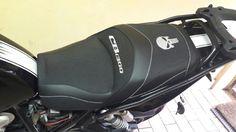 Honda cb 1300 . wkład zelowy modyfikacja kształtu i mata grzewcza wraz z kompletną instalacją zapraszam na facebooka grzegorz tapicer.