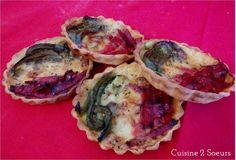 Cuisine 2 Soeurs: Tartelette aux couleurs de l'Italie {Bataille Food's Birthday}
