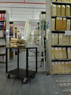 Archivio della Regione Liguria, Genova. Gli attrezzi del mestiere