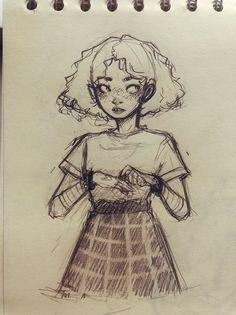 cartoon art Me gusta, 62 comentarios - - art Art Drawings Sketches Simple, Pencil Art Drawings, Cartoon Drawings, Cute Drawings, Drawing Art, Sketch Art, Cartoon Illustrations, Drawing Ideas, Drawing Girls