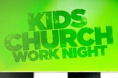 Kids Church WORK NIGHT!  This Monday, we're asking for skilled volunteers to help us finish the Kids Church remodeling. Did we mention FREE FOOD?  More info up soon!