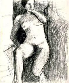 Richard Diebenkorn, untitled, 1967 on ArtStack #richard-diebenkorn #art