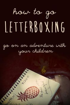 Have you ever been letterboxing? It's similar to geocaching, but you don't need a GPS.  It's a great way to get exercise, spend time in nature, and go on a treasure hunt. We've found many cool places in our local area because of letterboxing that we would have never known about otherwise. #overstuffedlife